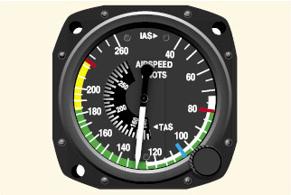 Multi-engine airpseed indicator